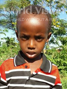 Choose a child to sponsor, like this little boy from Kilimatinde, Dickson Isaya age 7