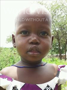 Choose a child to sponsor, like this little girl from Kilimatinde, Sesilia Silvester age 3