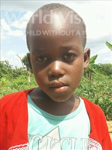 Choose a child to sponsor, like this little girl from Kilimatinde, Magreth  Mabula age 8