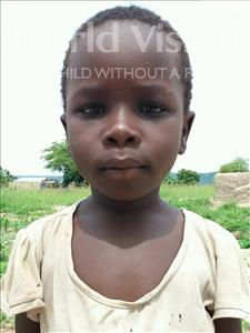 Choose a child to sponsor, like this little girl from Kilimatinde, Agnes Edward age 7