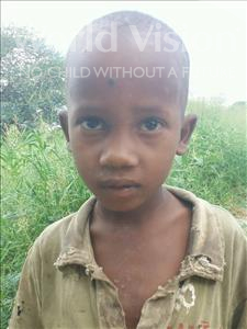 Choose a child to sponsor, like this little boy from Kilimatinde, Wilson Yohana age 7