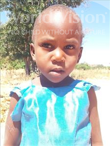 Choose a child to sponsor, like this little girl from Kilimatinde, Vanessa Jofrey age 5