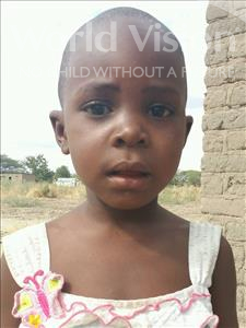 Choose a child to sponsor, like this little girl from Kilimatinde, Habiba Mateso age 5