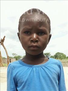 Choose a child to sponsor, like this little girl from Kilimatinde, Paulina Japheti age 5