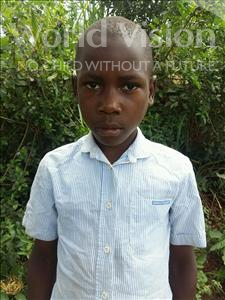 Choose a child to sponsor, like this little boy from Kibiga-Mulagi, Joseph age 10