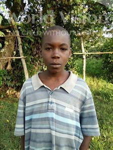 Choose a child to sponsor, like this little boy from Kibiga-Mulagi, David age 13
