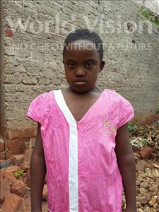 Choose a child to sponsor, like this little girl from Kibiga-Mulagi, Sharon age 10