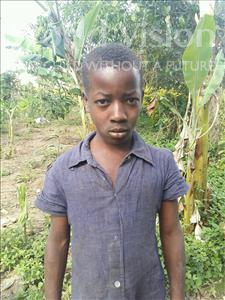 Choose a child to sponsor, like this little girl from Kibiga-Mulagi (Kimu), Agnes age 10