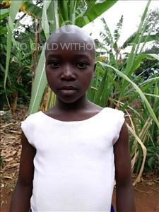 Choose a child to sponsor, like this little girl from Kibiga-Mulagi, Pauline age 10