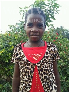 Choose a child to sponsor, like this little girl from Kibiga-Mulagi, Brenda age 11