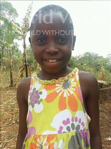 Choose a child to sponsor, like this little girl from Kibiga-Mulagi (Kimu), Harriet age 8