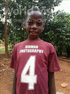 Choose a child to sponsor, like this little girl from Kibiga-Mulagi (Kimu), Annamaria age 11