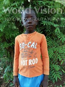 Choose a child to sponsor, like this little boy from Kibiga-Mulagi, Keyis age 7