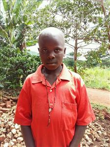 Choose a child to sponsor, like this little boy from Kibiga-Mulagi, Vicent age 9