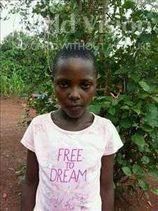 Choose a child to sponsor, like this little girl from Kibiga-Mulagi (Kimu), Asiya age 10