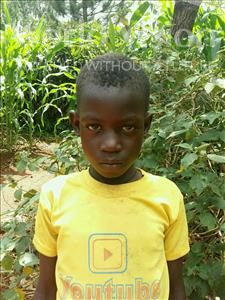 Choose a child to sponsor, like this little girl from Kibiga-Mulagi, Sarah age 9