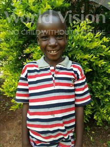 Choose a child to sponsor, like this little boy from Kibiga-Mulagi, Joseph age 8