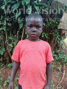 Choose a child to sponsor, like this little boy from Kibiga-Mulagi, Ramathan age 6