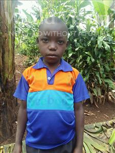 Choose a child to sponsor, like this little boy from Kibiga-Mulagi (Kimu), Emmanuel age 8