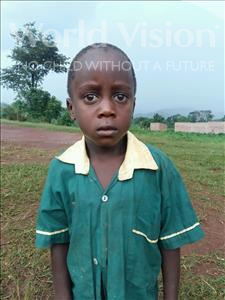 Choose a child to sponsor, like this little boy from Kibiga-Mulagi (Kimu), Paul age 7