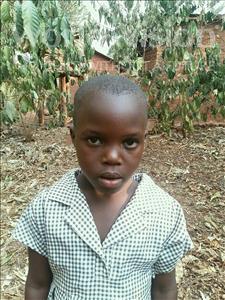 Choose a child to sponsor, like this little girl from Kibiga-Mulagi (Kimu), Esther age 5