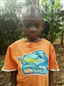 Choose a child to sponsor, like this little boy from Kibiga-Mulagi (Kimu), Harunah age 5