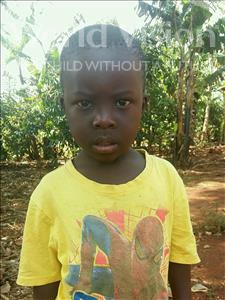 Choose a child to sponsor, like this little boy from Kibiga-Mulagi, Jovan age 4