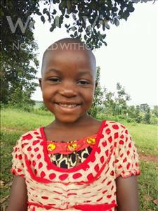 Choose a child to sponsor, like this little girl from Kibiga-Mulagi, Pamela age 4
