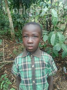 Choose a child to sponsor, like this little boy from Kibiga-Mulagi (Kimu), Tsieri age 9