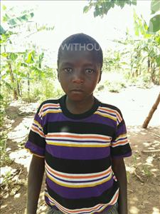 Choose a child to sponsor, like this little boy from Ntwetwe, Bright age 13