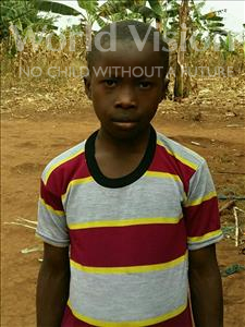 Choose a child to sponsor, like this little boy from Ntwetwe, Fred age 10