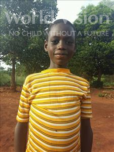Choose a child to sponsor, like this little boy from Ntwetwe, Jorame age 10