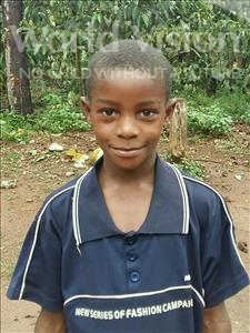 Choose a child to sponsor, like this little boy from Ntwetwe, George William age 9