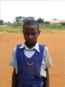 Choose a child to sponsor, like this little girl from Ntwetwe, Stella age 10