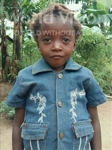 Choose a child to sponsor, like this little girl from Ntwetwe, Esther age 7