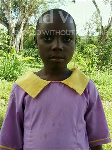 Choose a child to sponsor, like this little girl from Ntwetwe, Tabiisa age 8