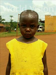 Choose a child to sponsor, like this little girl from Ntwetwe, Shanita age 4