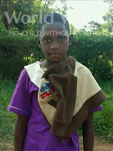 Choose a child to sponsor, like this little girl from Ntwetwe, Sylivia age 9
