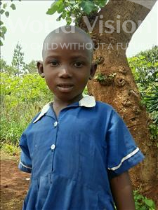 Choose a child to sponsor, like this little girl from Ntwetwe, Sharon age 5