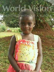 Choose a child to sponsor, like this little girl from Ntwetwe, Benita age 5