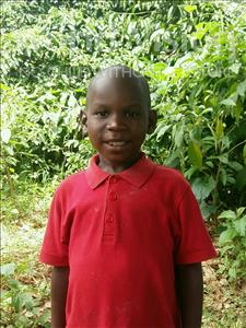 Choose a child to sponsor, like this little boy from Ntwetwe, Posiano age 7
