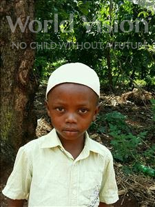 Choose a child to sponsor, like this little boy from Ntwetwe, Ali Jabiru age 3