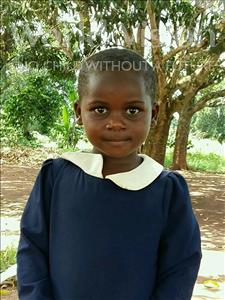 Choose a child to sponsor, like this little girl from Ntwetwe, Raziya age 4