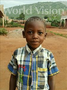 Choose a child to sponsor, like this little boy from Ntwetwe, Brian age 5