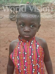 Choose a child to sponsor, like this little girl from Ntwetwe, Robinah age 3