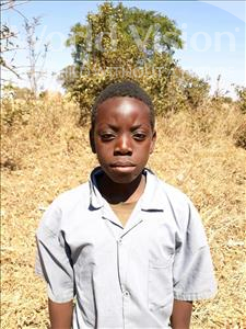 Choose a child to sponsor, like this little boy from Keembe, Snoiah age 10