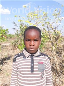 Choose a child to sponsor, like this little girl from Keembe, Envy age 8