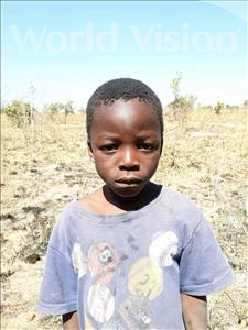 Choose a child to sponsor, like this little boy from Keembe, Innocent age 7