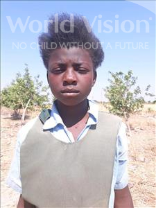 Choose a child to sponsor, like this little girl from Keembe, Scholastic age 11