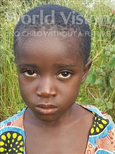 Choose a child to sponsor, like this little girl from Keembe, Yvone age 6
